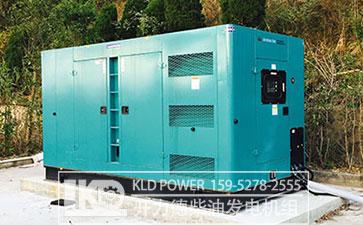 低噪音式柴油发电机厂家直供