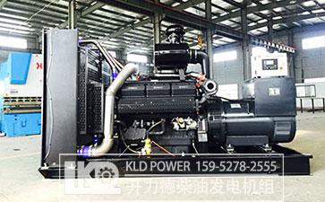 上柴发电机组500KW成品图