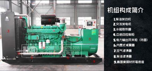 柴油发电机组由什么组成?(附构成图)